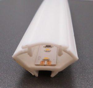 LED Eckprofil zum Kleben